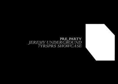 25/11 Lighthouse Festival Preparty w/ Jeremy Underground