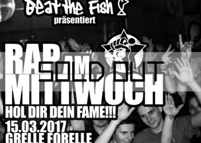 15/03 Sold Out: Rap am Mittwoch