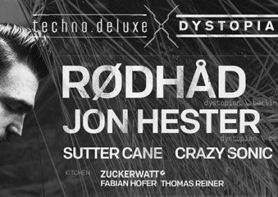 29/12 Techno.Deluxe x Zuckerwatt w/ Rødhåd