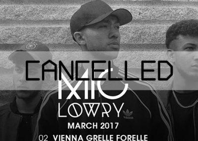 02/03 Cancelled: MiC Lowry