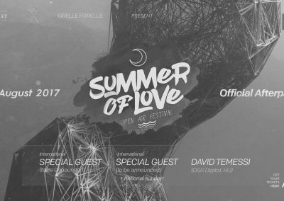 13/08 Summer Of Love Aftershow Party