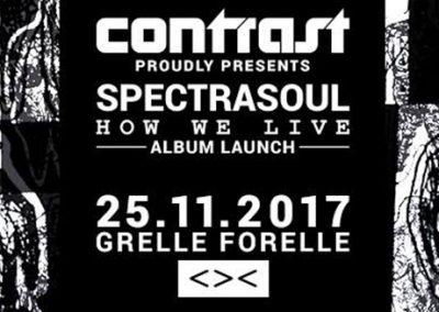 25/11 Contrast presents Spectrasoul 'How We Live' Album Launch