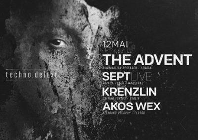 12/05 Techno.Deluxe w/ The Advent