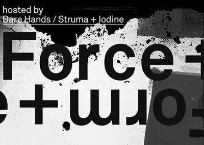 21/01 Force & Form hosted by Bare Hands /Struma +Iodine