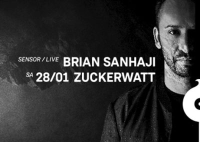 28/01 Zuckerwatt w/ Brian Sanhaji live & Layton Giordani