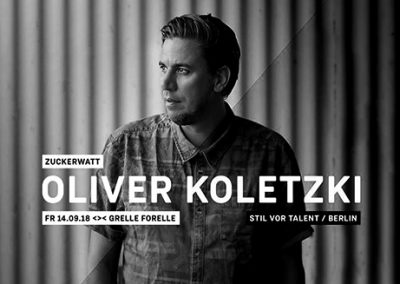 14/09 Zuckerwatt w/ Oliver Koletzki (stil vor talent)