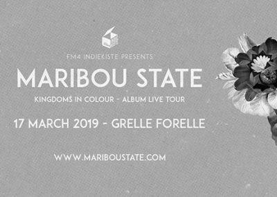 17/03 FM4 Indiekiste mit Maribou State