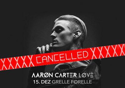15/12 Aaron Carter
