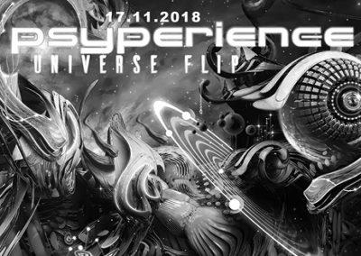 17/11 Psyperience – Universe Flip w/ Virtuanoise, Dark Whisper & TAS