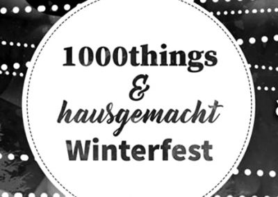 12/01 1000things & hausgemacht Winterfest
