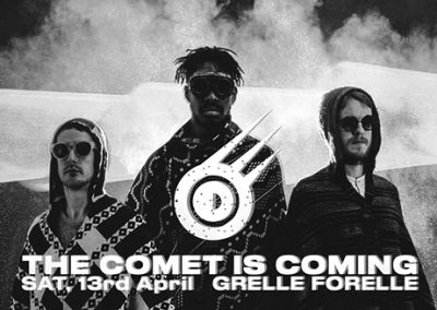 13/04 The Comet Is Coming
