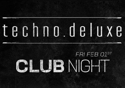 01/02 Techno.Deluxe CLUB NIGHT