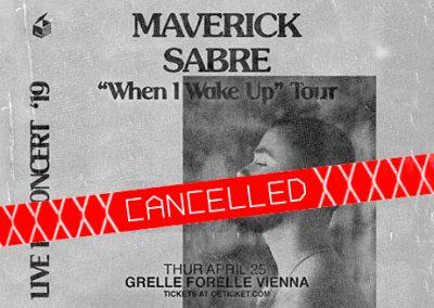 25/04 FM4 Indiekiste mit Maverick Sabre