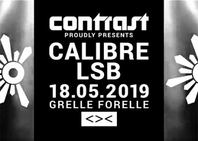 18/05 CONTRAST presents Outlook Festival Launch Party Vienna 2019