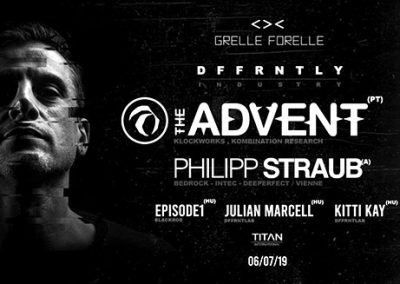 06/07 Dffrntly: Industry w/ The Advent, Philipp Straub