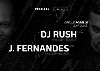 22/06 Parallax X Techno.Deluxe w/ DJ RUSH