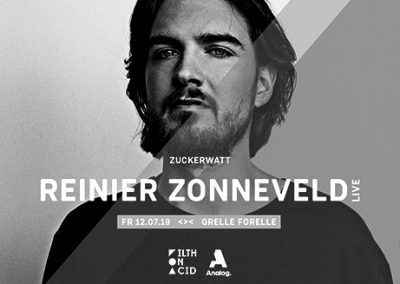 12/07 ZUCKERWATT w/ Reinier Zonneveld Live