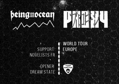 14/11 Being As An Ocean, Novelists FR, Dream State