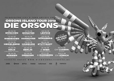 31/10 Die Orsons • Orsons Island Tour 2019