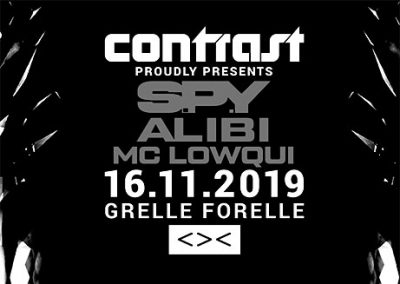 16/11 CONTRAST presents S.P.Y – Dubplate Style