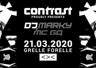 21/03 CONTRAST w/ DJ MARKY & MC GQ