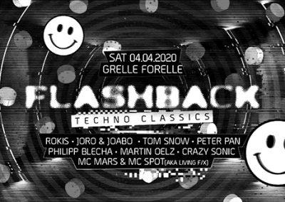 04/04 Flashback RAVE # Techno Classics