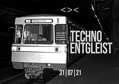31/07 Techno Entgleist | Neue Schiene