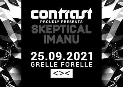 25/09 CONTRAST presents SKEPTICAL & IMANU   18+