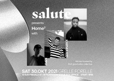 30/10 salute presents Home² w/ Karma Kid + MPH