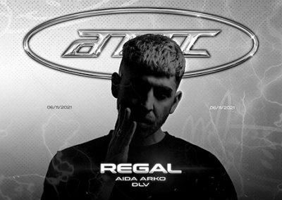06/11 3YRS Acid Techno Techno Club w/ REGAL