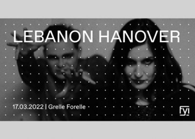17/03 FYI: Lebanon Hanover + Sniffin Glue